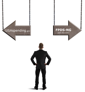 FPDS vs USASpending business decision