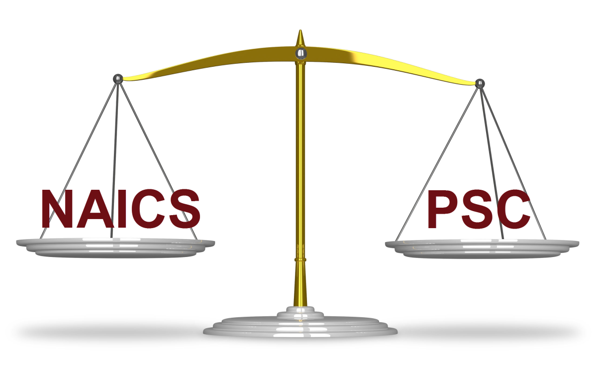 Balancing NAICS and PSC For [GovCon] Business Sake