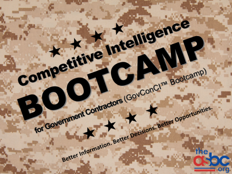 Competitive Intelligence Bootcamp for Government Contractors (GovConCI™)