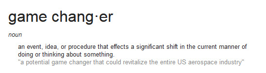 game changer definition