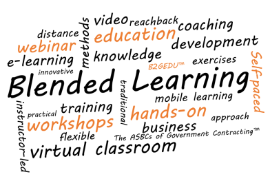 Blended Learning Word Cloud by The ASBC
