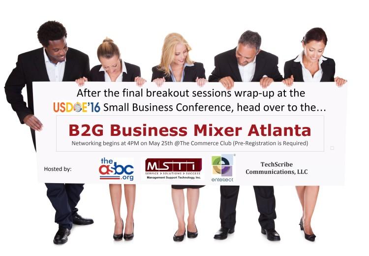 USDOE16 B2G Business Mixer Hosts